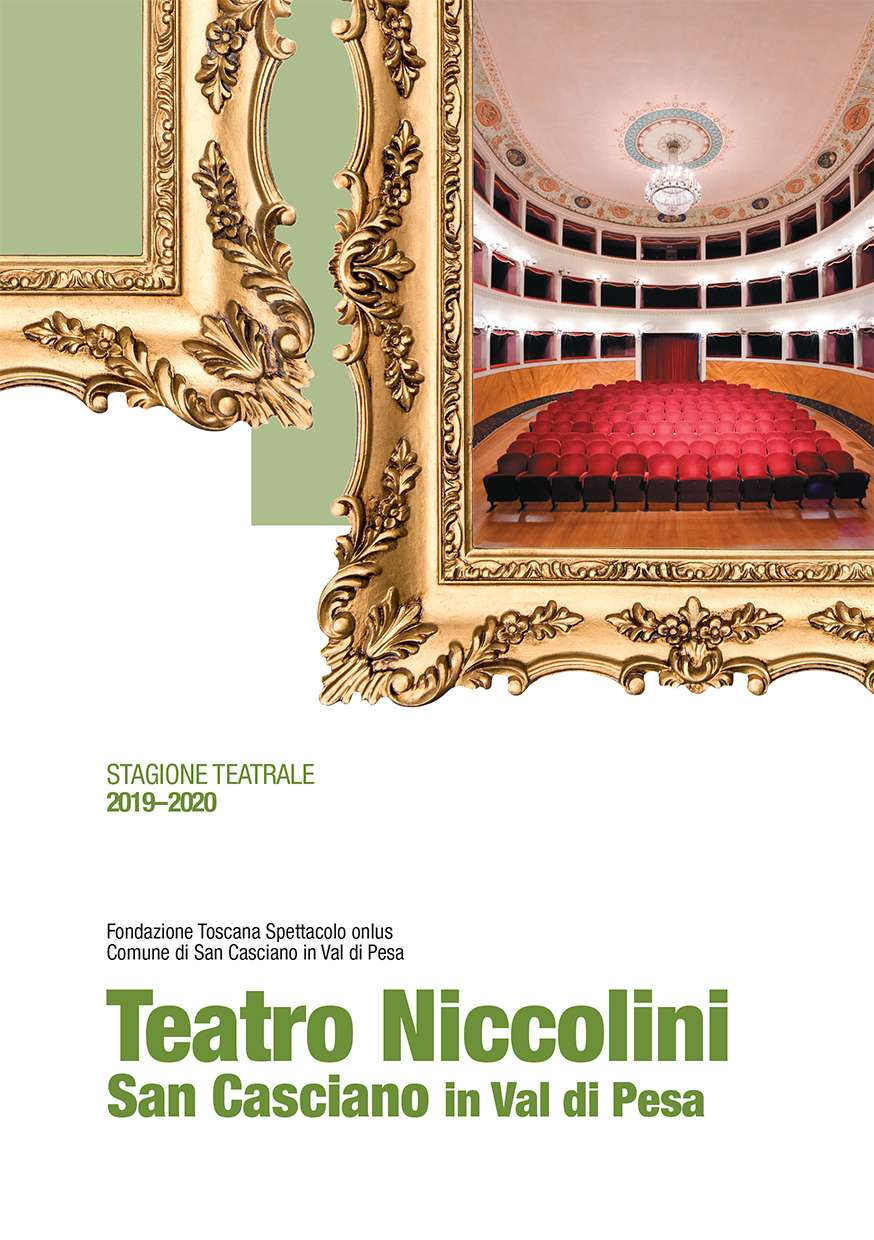 The curtain of the Niccolini Theatre is now up, offering inspiratuin to the people of all ages San Casciano Val di Pesa